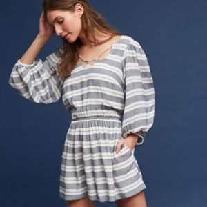Holding Horses Striped Caged Romper